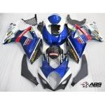 Blue Rockstar Makita GSXR Fairing Set