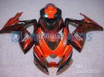 Orange Flames GSXR Fairing Set