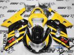 Black and Yellow GSXR Fairing Kit Set