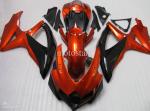 Orange and Black ABS GSXR Fairing Set
