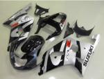 Suzuki Fairing – GSXR600-750 K1 00-03 Black Silver
