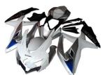 Suzuki GSXR Fairings OEM Silver